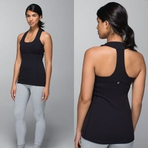 Lululemon Scoop Neck Tank With Mesh Back